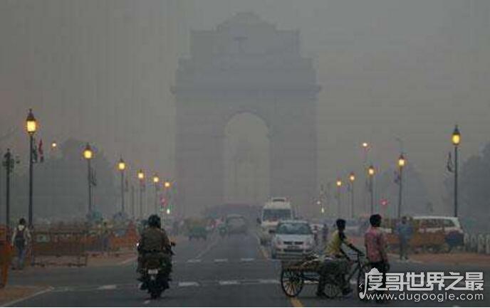 全球10大空氣污染城市,印度便占了6處(中國無一上榜)
