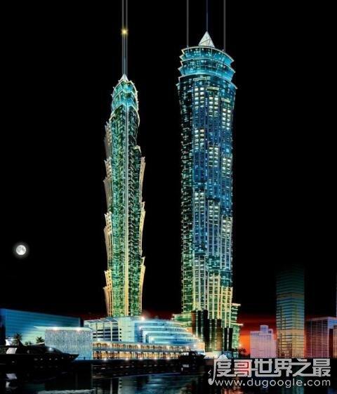 世界上最高的酒店,迪拜万豪伯爵酒店乃吉尼斯认证最高酒店