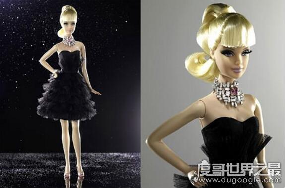 世界上最贵的芭比娃娃,钻石芭比价值32万美元(抵一辆宝马)