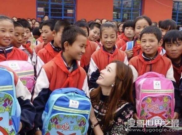 林志玲获封第一慈善名模,在十多年里她捐款金额庞大
