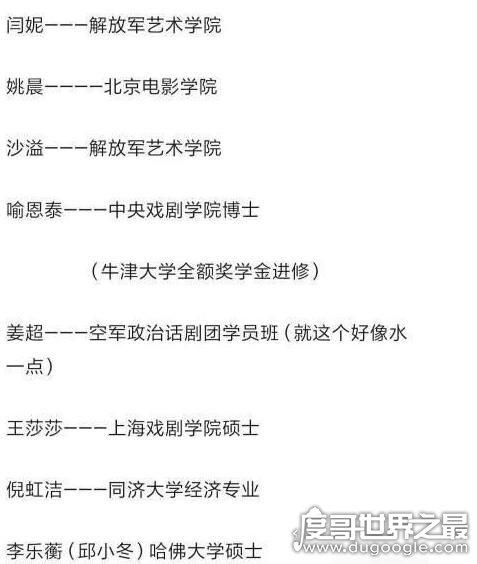 """武林外传全员学霸上热搜,""""邱小冬""""乃哈佛大学博士生"""