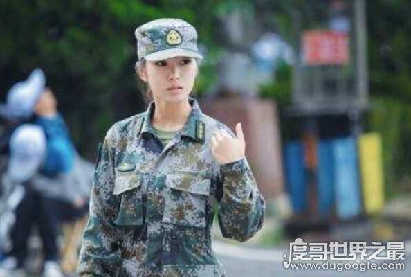 中国最美女教官,刘艺晗(因酷似章子怡而走红网络)