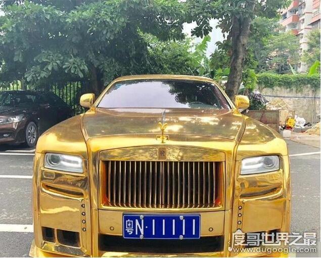 黄金劳斯莱斯粤n11111车牌车主是谁,车主乃26岁的亿万富翁