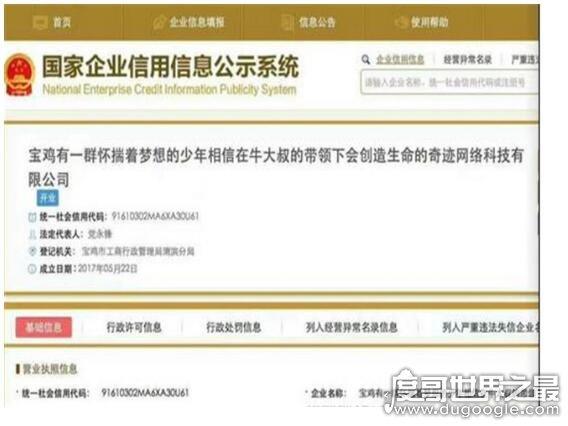 中国名称最长的公司,陕西宝鸡最长名称公司走红(长达39个字)