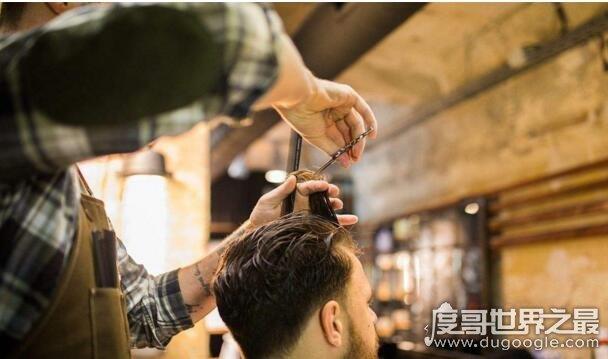 世界上最贵的理发师,一次26万/生意非常好(获吉尼斯认证)