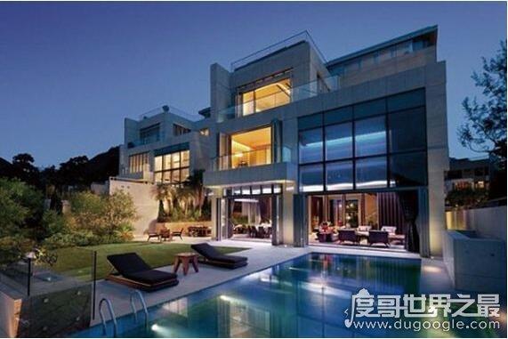 亞洲十大豪宅排行榜,1平米過百萬的房子普通富豪都住不起