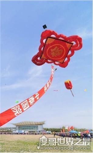 世界上最大的中国结,长40米重达4吨(在昆明诞生)