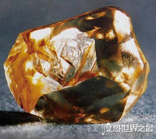 中国现存最大的钻石,常林钻石重达158克拉(并未丢失)