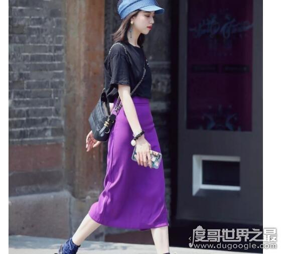 紫色配什么颜色好看,教你怎样穿搭紫色衣服