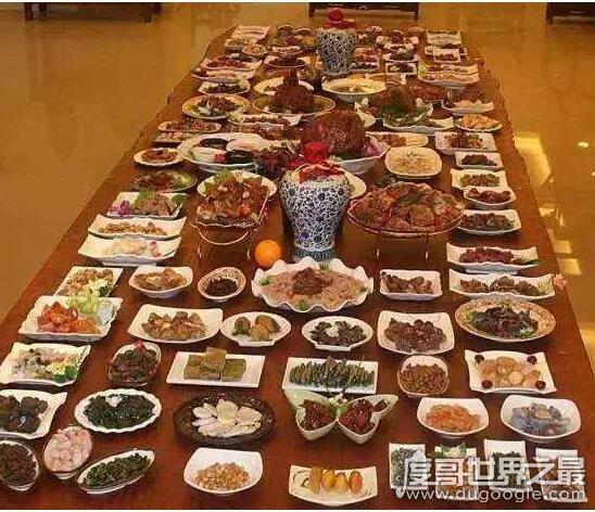 清朝时期的满汉全席多少道菜?总共为108道(附最全菜品)