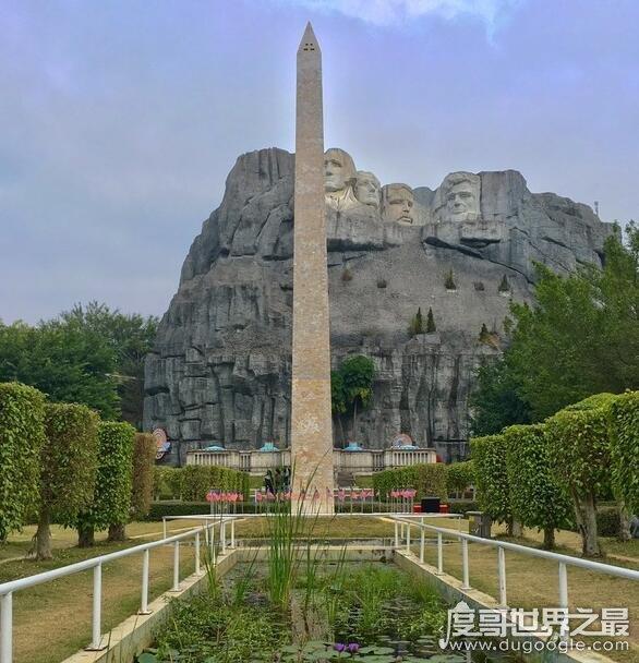 世界上最高的紀念碑,華盛頓紀念碑高達169米