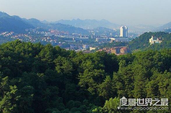 山城是哪个城市,重庆是世界上最大的山城(依山而建的城市)