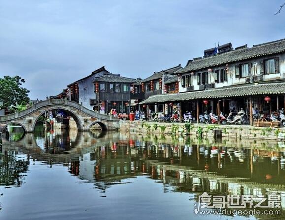 西塘古镇在哪里,位于江浙沪三省市交界处(是吴越文化发祥地)