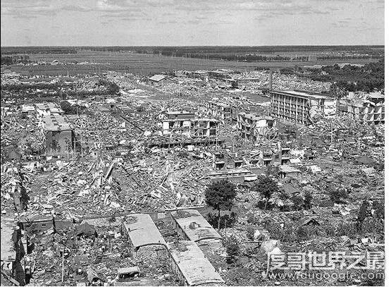 中国最大的地震,12·16海原地震相当于11.2个唐山大地震
