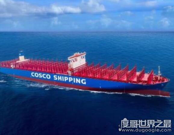 世界上最大的货轮,中国制造世界最大级别集装箱船(长达400米)