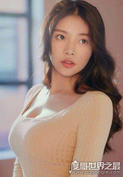 中國胸最大的女明星排名,e罩杯的張馨予只能排第三(附美圖)