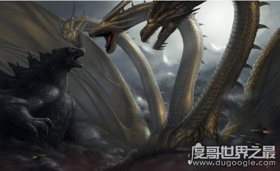 """官方公布帝王计划20个怪兽名单,哥斯拉被封""""怪兽之王"""""""