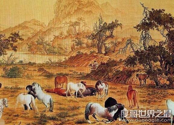 中国十大传世名画,每一副都是艺术的巅峰(描绘了中华景秀山河)