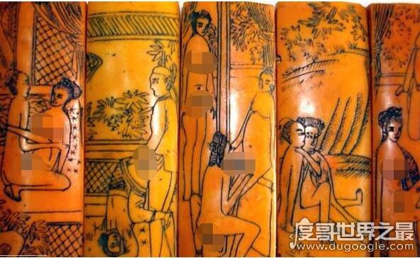 我国古代最早的春画:嫁妆画(女子出嫁时必须要的陪嫁物品)