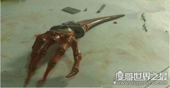 世界上最恐怖的一把刀,意大利鬼手刀(用鐵匠家人的骨頭制成)