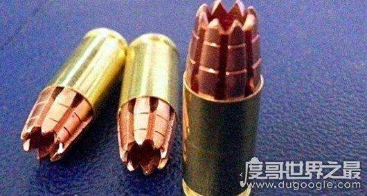 世界十大禁用子弹,达姆弹和空尖弹位列其中(部分还在使用)