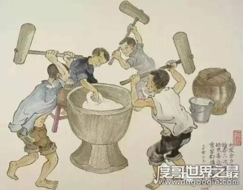 古代女子酷刑刑舂之刑,先脸上刻字或割鼻子再罚做苦役