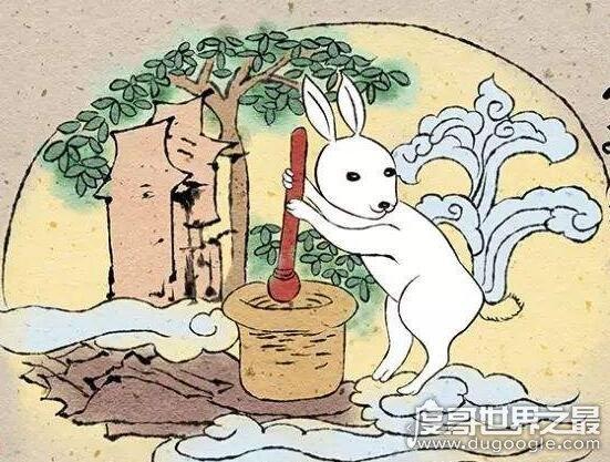 玉兔搗藥的故事,關於玉兔來曆的六個傳說(嫦娥奔月隻是其一)