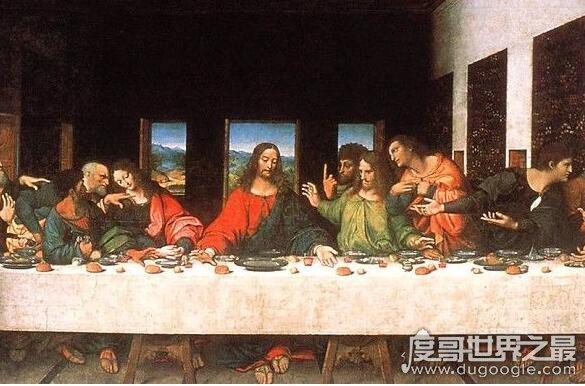 达芬奇的五大预言,《最后的晚餐》的预言人类将毁于特大洪水