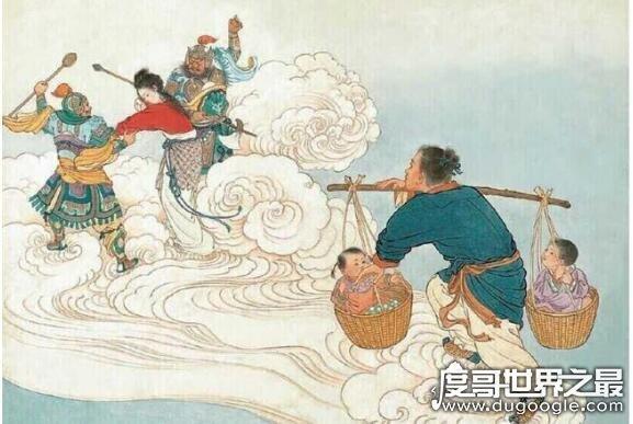 中國古代神話故事有哪些,我國古代民間神話故事大全盤點