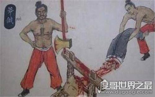 古代打板子即杖刑或笞刑,扒下褲子打屁股(古代五刑之一)