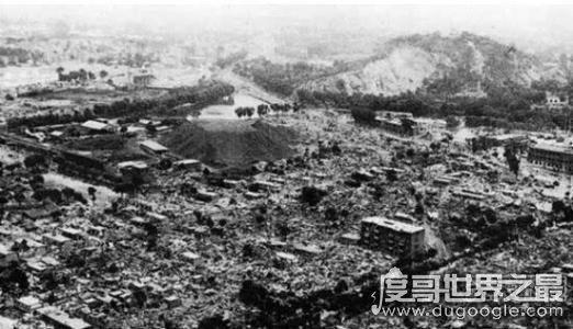 世界第一大地震,智利地震震级9.5(死亡人数最多是华县地震)