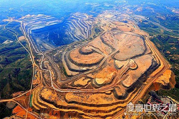 世界十大煤矿排行榜,第2第3在中国第1第5第8在美国