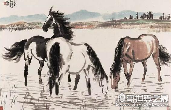 擅長畫馬的畫家有哪些,最知名的是徐悲鴻(難以超越的存在)