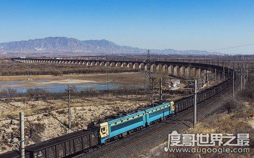 世界上最长的火车,长7353米/682节车厢(中国最长火车3971米)
