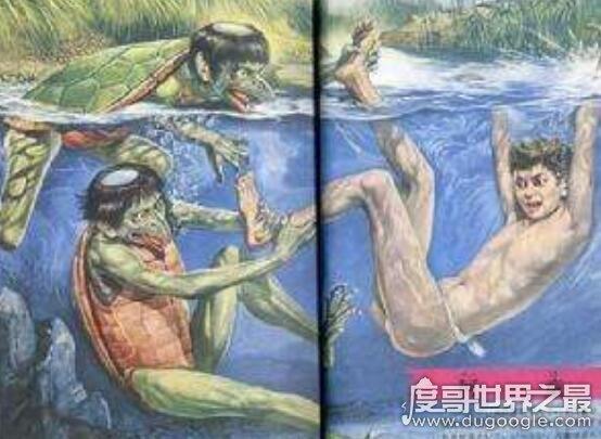 河童是什么,是一种会吃人内脏的民间传说生物(其实是水獭)