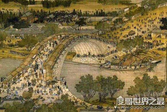 清明上河圖是哪個朝代的,北宋畫家張擇端的經典巨作(國寶級文物)