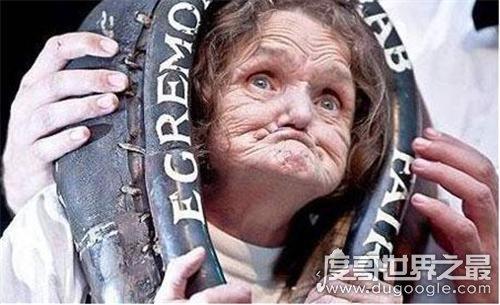 世界上最丑的女人,英国老太安妮伍兹(获得吉尼斯世界认证)