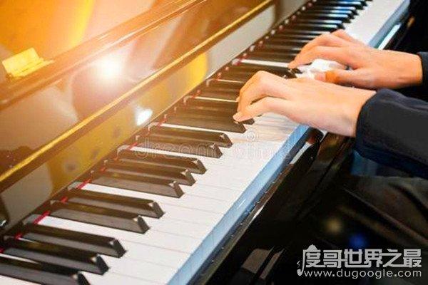 世界上最快的手指,一秒钟敲击琴键13次(超越人眼极限)