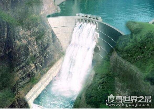 世界第二大水电站,伊泰普水电站(年发电量大概有900亿度)