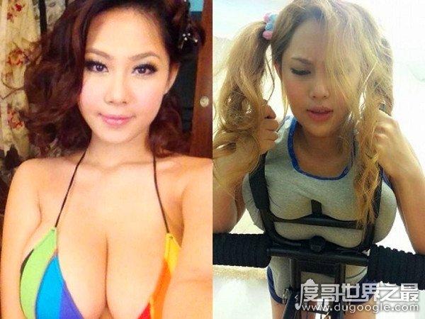 中国胸最大的女人,i级艳后马友蓉(乃纯天然的I罩杯胸部)