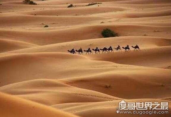 世界最大的沙漠排名,撒哈拉沙漠抵上我国面积(906万平方公里)