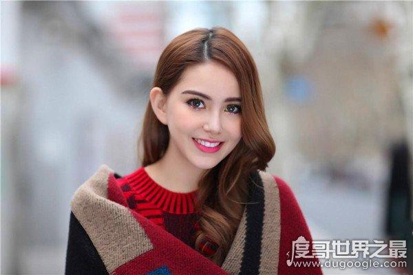 """中国混血最多的明星,""""天王嫂""""昆凌(中韩澳三国混血)"""