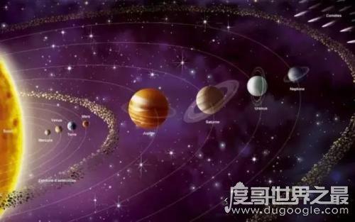 太阳系八大行星排列顺序,离太阳最近的是水星/最远的是海王星