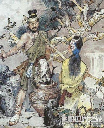 十大名剑之干将莫邪的故事,夫妻铸剑被杀儿子用剑复仇