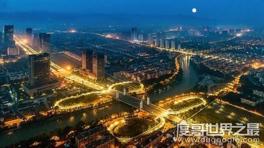 十大中国最富有县级市排行榜,江苏省占有5个城市(浙江省有4个)