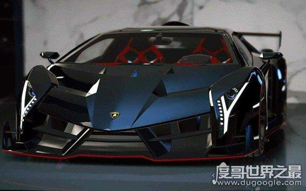世界上最帅的车,兰博基尼毒药(硬顶版全世界仅有三辆)