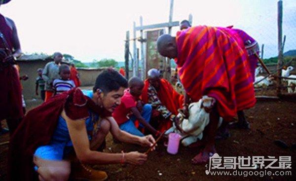 世界上最神奇的民族,非洲雷迪菜菜族(喝血为生的部落)