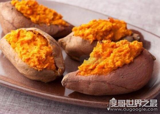 含钾高的食物有哪些,含钾高的十大食物排行(最高的是红薯)