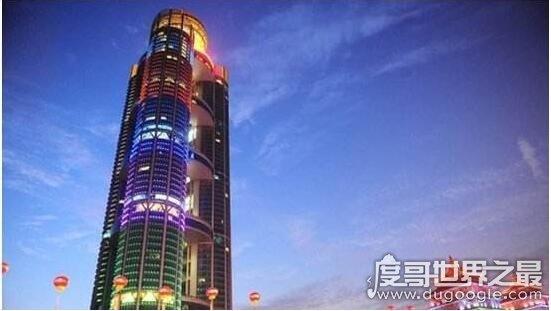 华西村第一高楼,耗资30亿打造328米高的大型现代化酒店