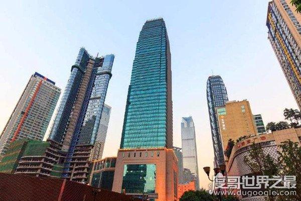 2019重庆最高楼排名,WFC与九龙仓国际金融中心并列第二